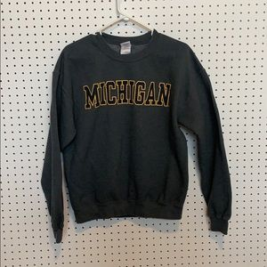 University of Michigan crewneck- mint condition